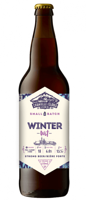 Winter Wit by Granville Island Brewing in British Columbia, Canada