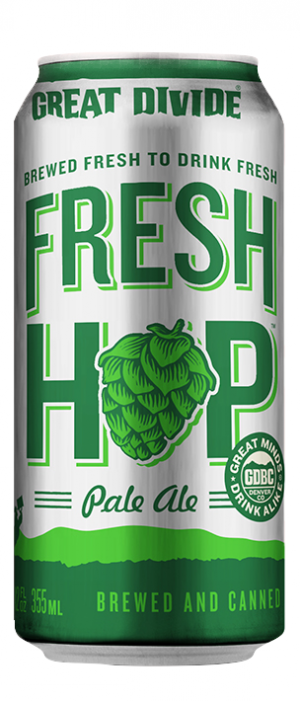 Fresh Hop Pale Ale by Great Divide Brewing Company in Colorado, United States