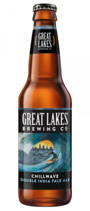 Chillwave Double IPA by Great Lakes Brewing Company in Ohio, United States