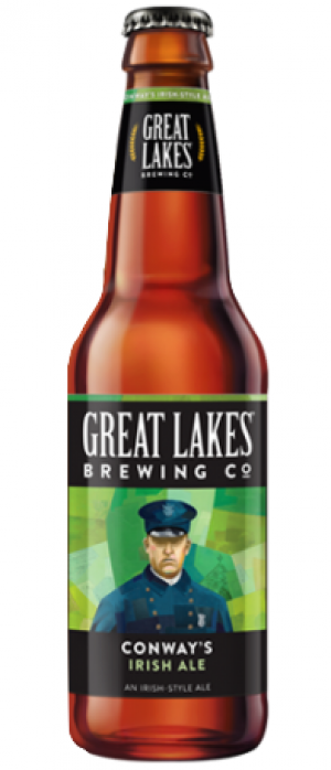 Conway's Irish Ale by Great Lakes Brewing Company in Ohio, United States