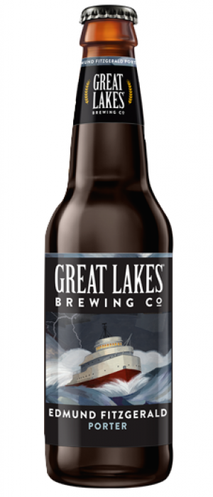 Edmund Fitzgerald Porter by Great Lakes Brewing Company in Ohio, United States