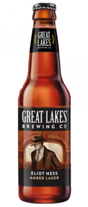 Eliot Ness Amber Lager by Great Lakes Brewing Company in Ohio, United States