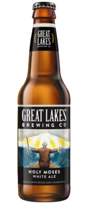 Holy Moses White Ale by Great Lakes Brewing Company in Ohio, United States