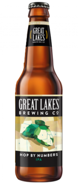 Hop By Numbers IPA by Great Lakes Brewing Company in Ohio, United States