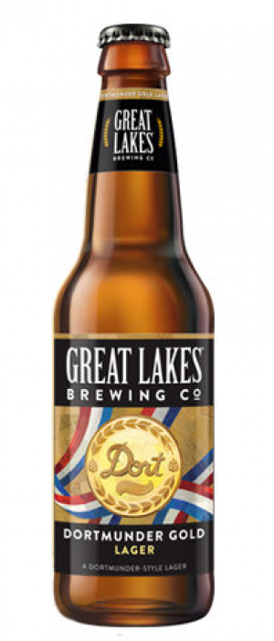 Dortmunder Gold Lager by Great Lakes Brewing Company in Ohio, United States