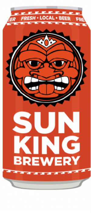 The Great Rhubarbarian by Sun King Brewing in Indiana, United States