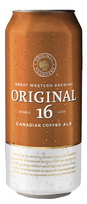 Original 16 Canadian Copper Ale