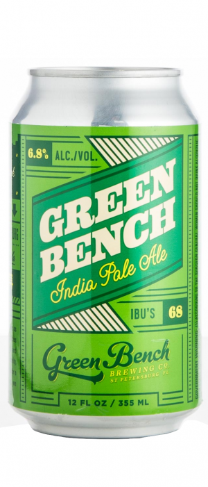Green Bench IPA by Green Bench Brewing Company in Florida, United States