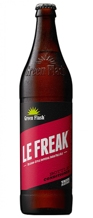 Le Freak by Green Flash Brewing Company in California, United States