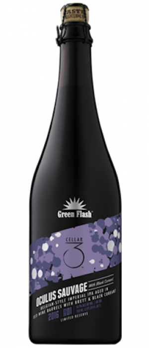 Oculus Sauvage With Black Currant by Green Flash Brewing Company in California, United States