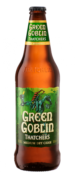 Green Goblin by Thatchers Cider in Somerset - England, United Kingdom