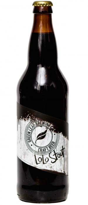 LoLo Stout by Green Leaf Brewing Co. in British Columbia, Canada