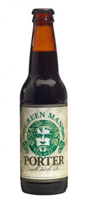 Green Man Porter by Green Man Brewery in North Carolina, United States