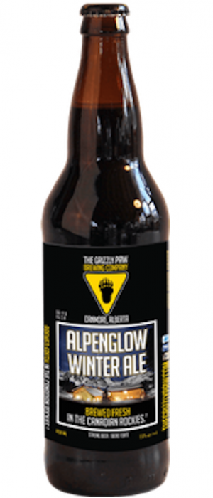 Alpenglow Winter Ale by The Grizzly Paw Brewing Company in Alberta, Canada