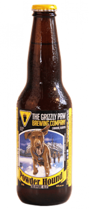 Powder Hound Blonde Ale by The Grizzly Paw Brewing Company in Alberta, Canada
