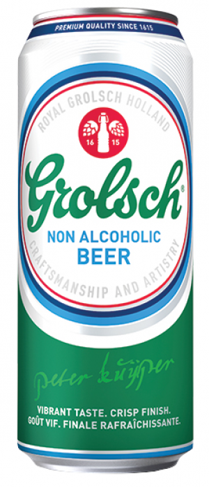 Grolsch Non-Alcoholic Beer by Grolsch in Overijssel, Netherlands
