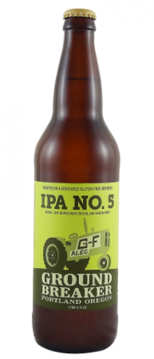 IPA No. 5 by Ground Breaker Brewing and Gastropub in Oregon, United States