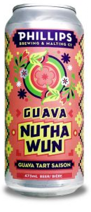 Guava Nuthawun Guava Tart Saison by Phillips Brewing & Malting Company in British Columbia, Canada