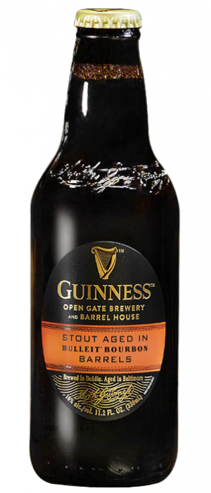Bulleit Bourbon Barrel-Aged Stout by Guinness in Leinster, Ireland