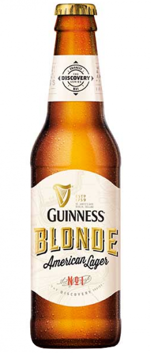 Guinness Blonde American Lager by Guinness in Leinster, Ireland