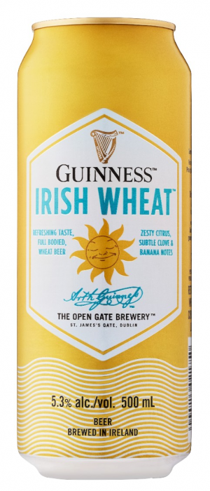 Guinness Irish Wheat by Guinness in Leinster, Ireland