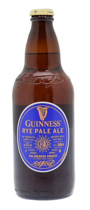 Guinness Rye Pale Ale by Guinness in Leinster, Ireland