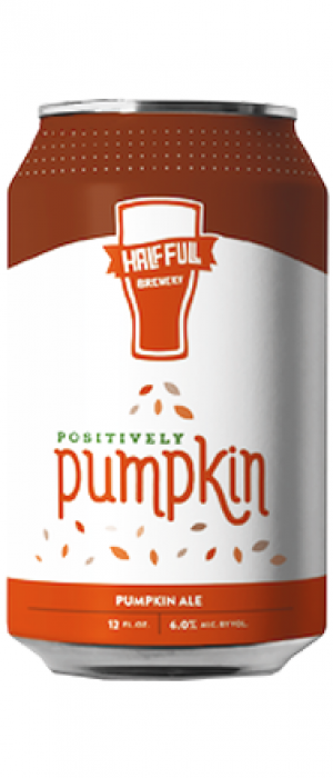 Positively Pumpkin by Half Full Brewery in Connecticut, United States