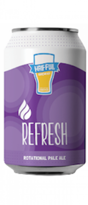 Refresh by Half Full Brewery in Connecticut, United States