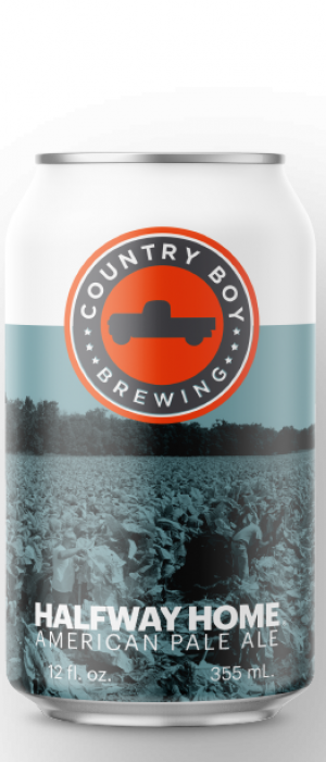 Halfway Home American Pale Ale by Country Boy Brewing in Kentucky, United States