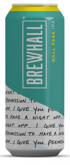 Hall Pass IPA by BREWHALL in British Columbia, Canada