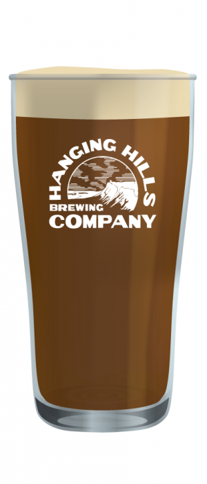 Hartford Line Amber Lager by Hanging Hills Brewing Company in Connecticut, United States