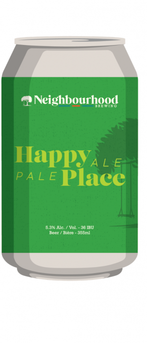 Happy Place by Neighbourhood Brewing in British Columbia, Canada