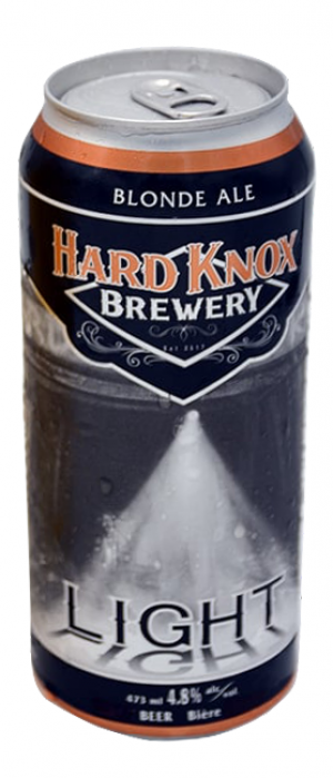 Knox Light by Hard Knox Brewery in Alberta, Canada