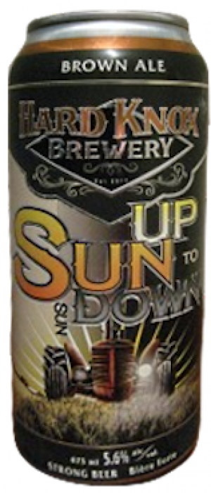 Sun Up to Sun Down by Hard Knox Brewery in Alberta, Canada