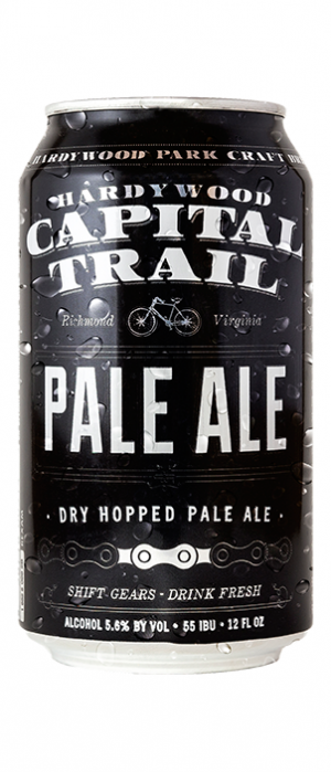 Capital Trail Pale Ale by Hardywood Park Craft Brewery in Virginia, United States
