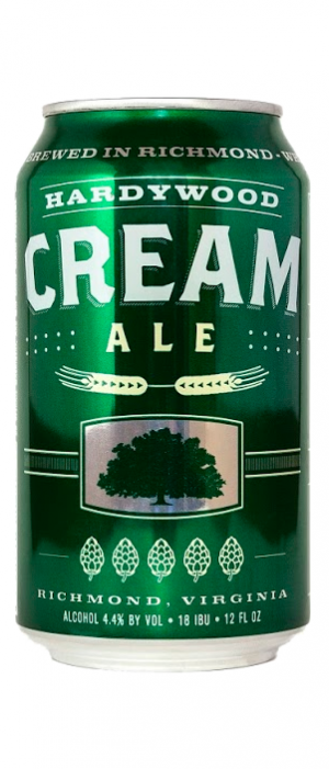 Cream Ale by Hardywood Park Craft Brewery in Virginia, United States