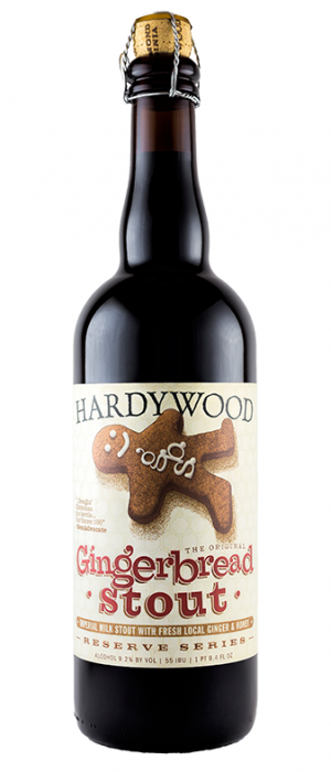 Gingerbread Stout by Hardywood Park Craft Brewery in Virginia, United States