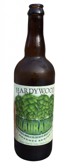 Quadrahop by Hardywood Park Craft Brewery in Virginia, United States