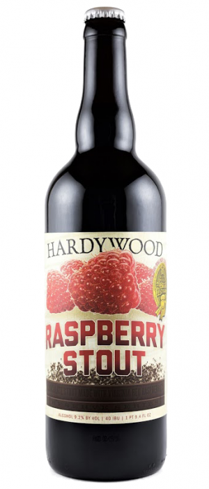 Raspberry Stout by Hardywood Park Craft Brewery in Virginia, United States
