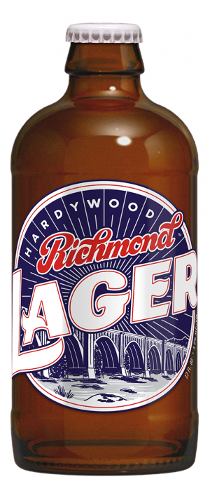 Richmond Lager by Hardywood Park Craft Brewery in Virginia, United States