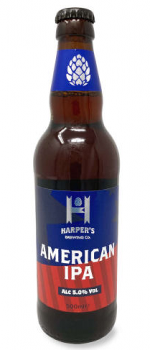 Harper's Brewing Co. American IPA by Marston's Brewery in Staffordshire - England, United Kingdom