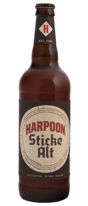 Sticke Alt by Harpoon Brewery and Beer Hall in Massachusetts, United States