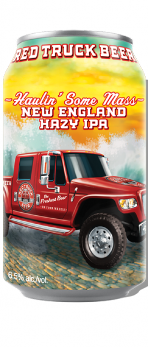 Haulin' Some Mass New England Hazy IPA by Red Truck Beer Company in British Columbia, Canada