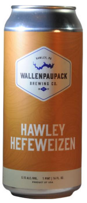 Hawley Hefeweizen by Wallenpaupack Brewing Company in Pennsylvania, United States