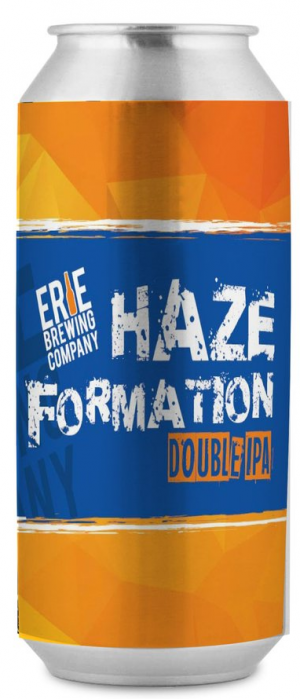 Haze Formation Double IPA by Erie Brewing Company in Pennsylvania, United States