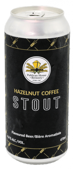 Hazelnut Coffee Stout by The Publican House Brewery in Ontario, Canada