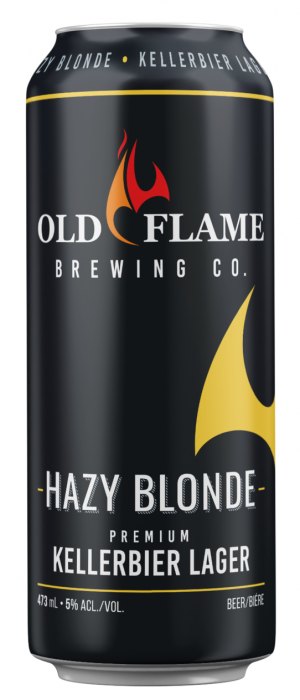 Hazy Blonde by Old Flame Brewing Company in Ontario, Canada