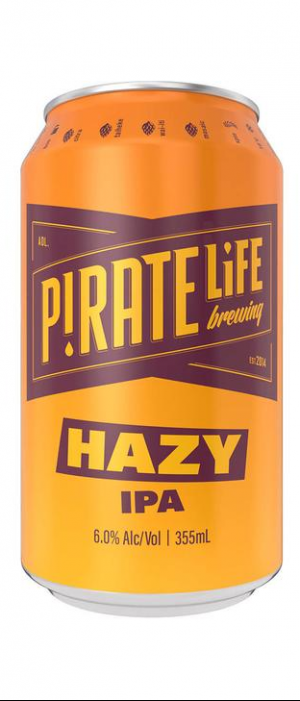 Hazy IPA by Pirate Life Brewing in South Australia, Australia