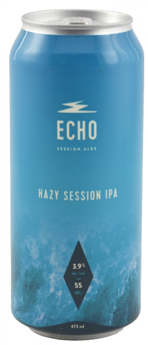 Hazy Session IPA by Echo Session Ales in Québec, Canada
