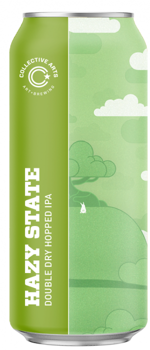 Hazy State by Collective Arts Brewing in Ontario, Canada